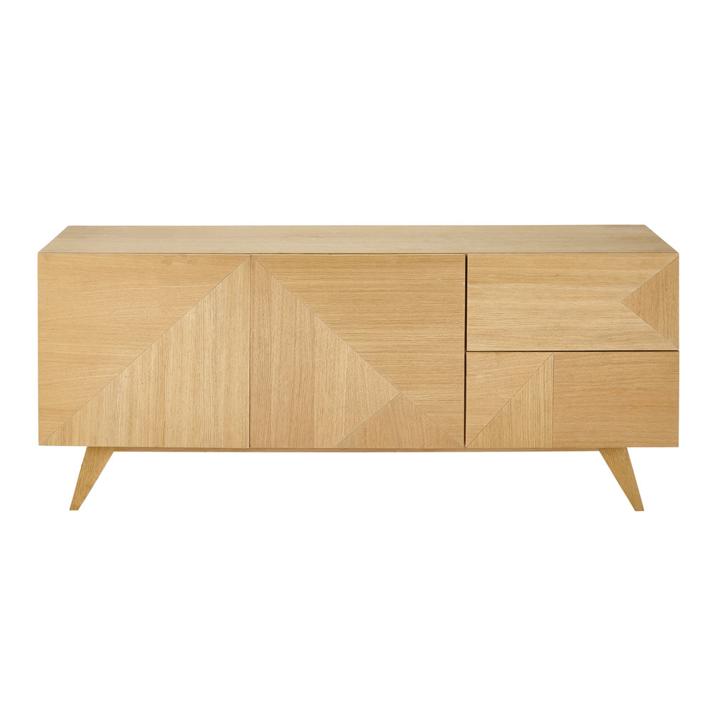 2 door 2 drawer vintage sideboard origami maisons du monde for Maison de monde uk