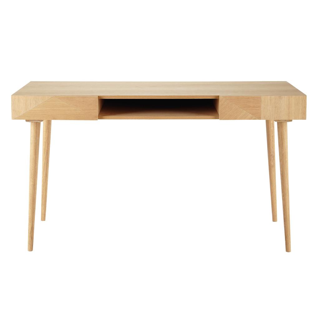 2 drawer vintage desk origami maisons du monde. Black Bedroom Furniture Sets. Home Design Ideas