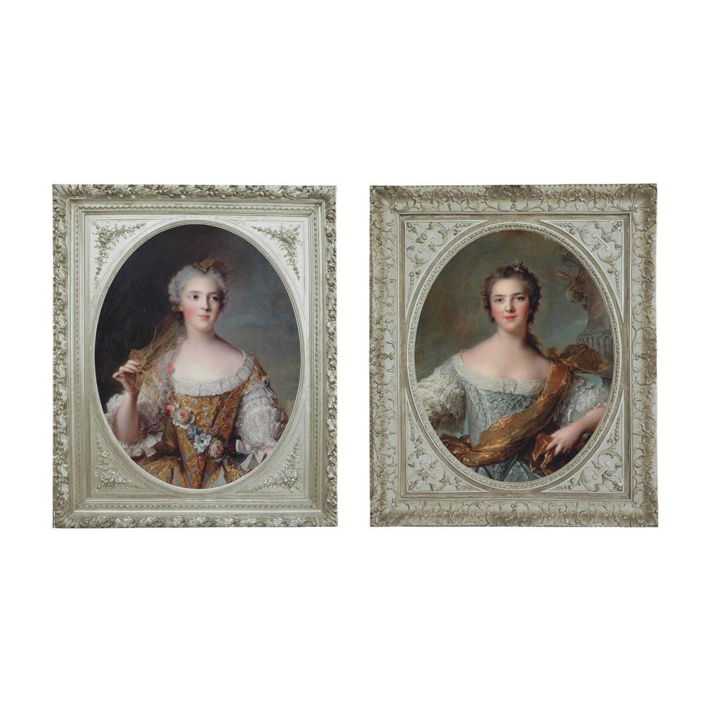 2 holzbilder 50 x 60 cm marquisen maisons du monde for Maison du monde cuadros