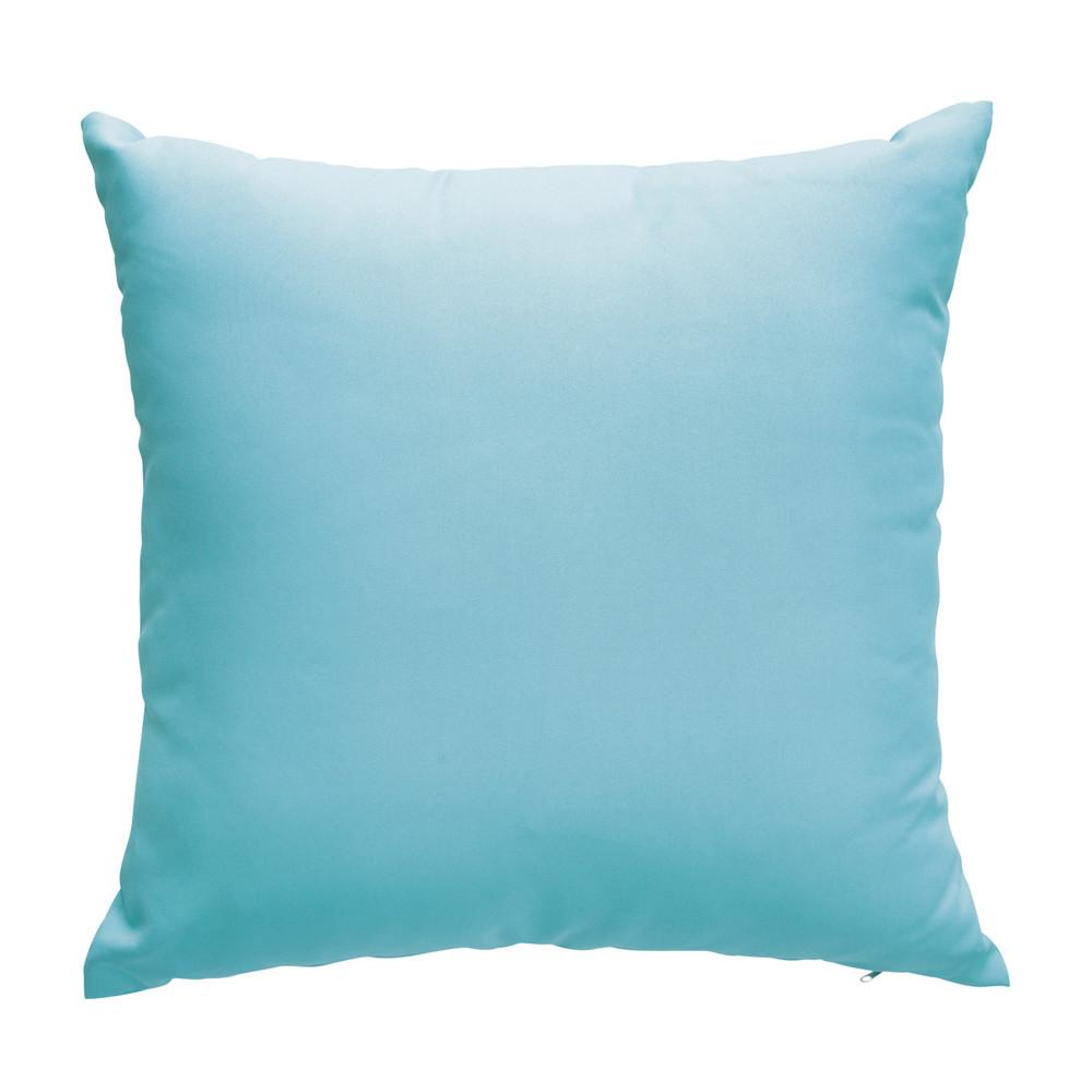 2 kissen blau 50 x 50 cm sunny maisons du monde. Black Bedroom Furniture Sets. Home Design Ideas