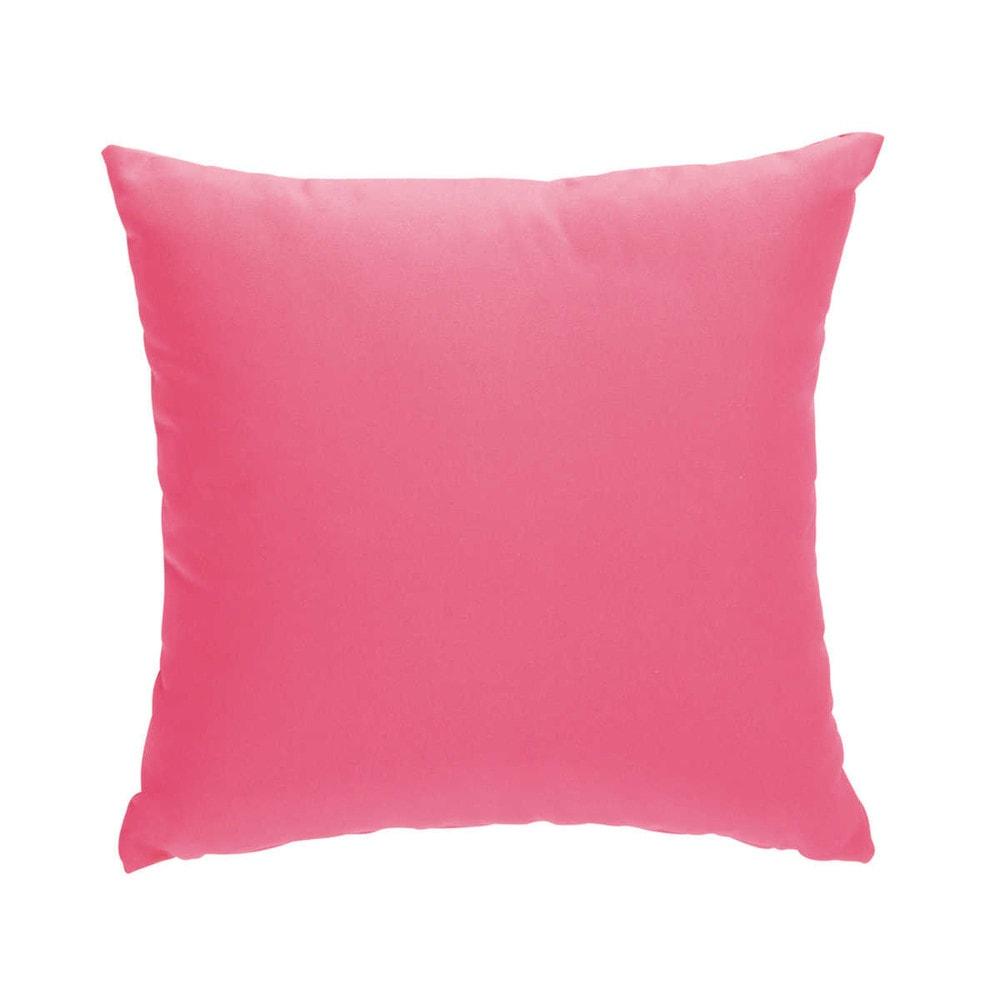 2 kissen rosa 40 x 40 cm sunny maisons du monde. Black Bedroom Furniture Sets. Home Design Ideas
