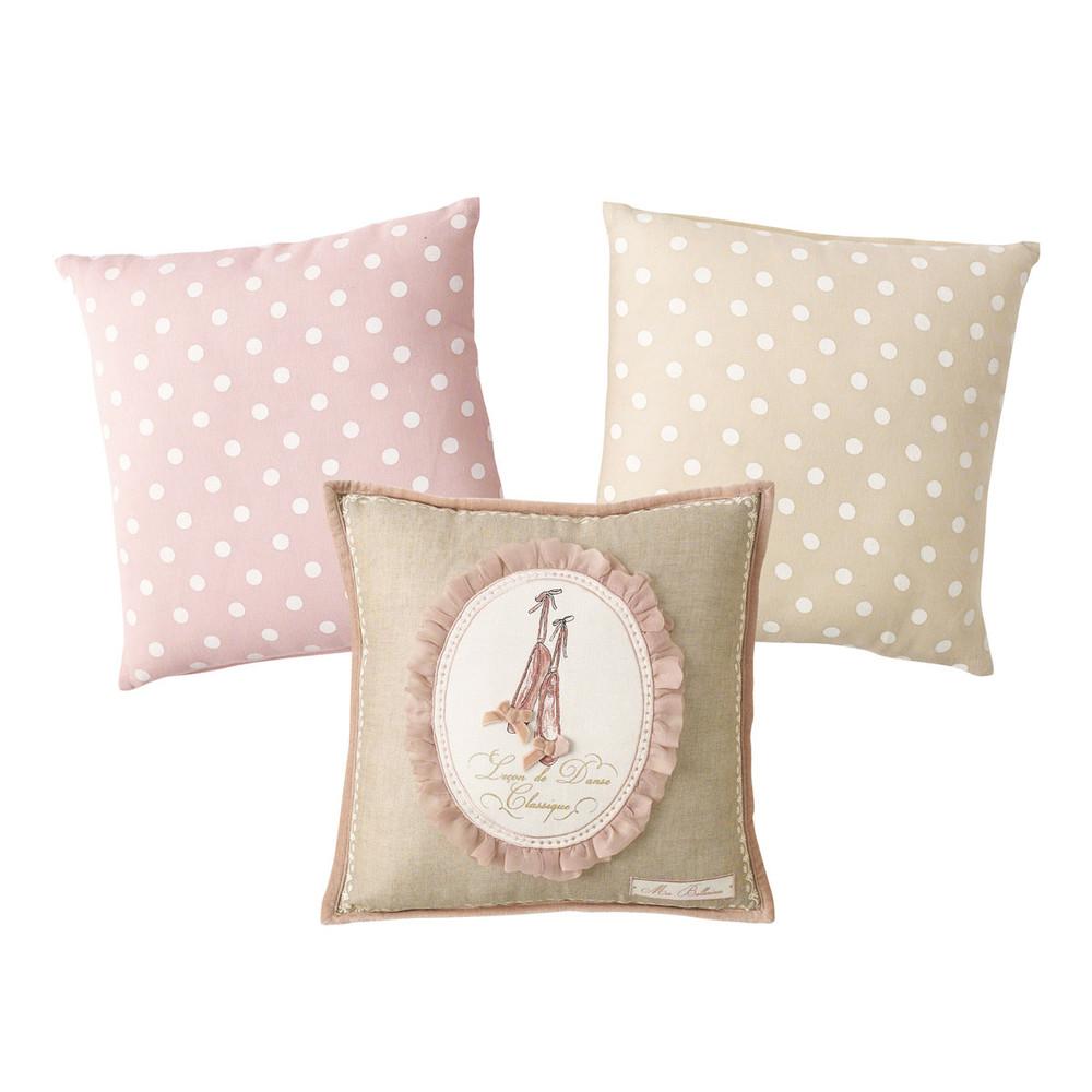 3 ballerina cushions - Maison Du Monde Ballerina