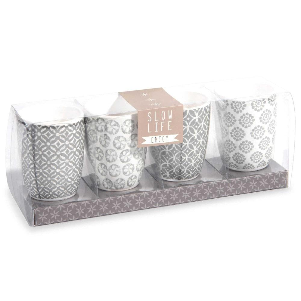 4 bougies slow maisons du monde. Black Bedroom Furniture Sets. Home Design Ideas