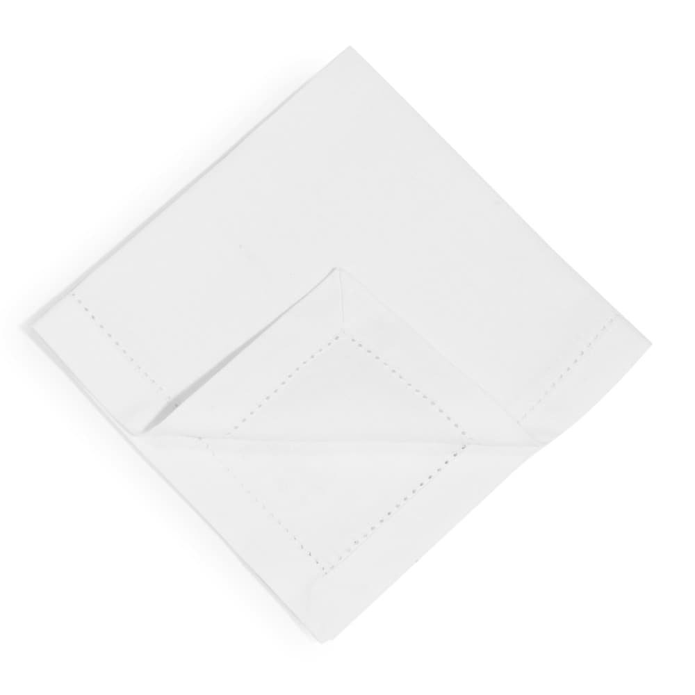 4 off white cotton serviettes 40 x 40 cm maisons du monde. Black Bedroom Furniture Sets. Home Design Ideas