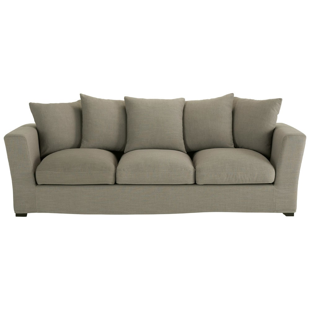 home furniture sofas 4 seater fabric sofa in grey