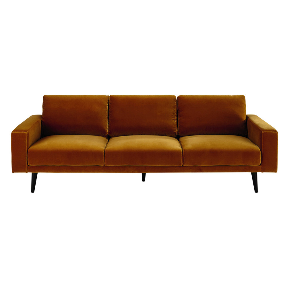 Dreipunkt Designer Leather Sofa Mustard Yellow Two Seat: Clark Sofa Clark Sofa In Camo Modern Manhattan