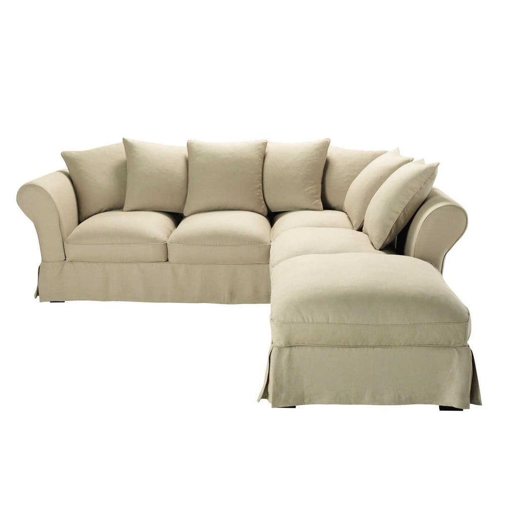 linen corner sofa sofa review. Black Bedroom Furniture Sets. Home Design Ideas