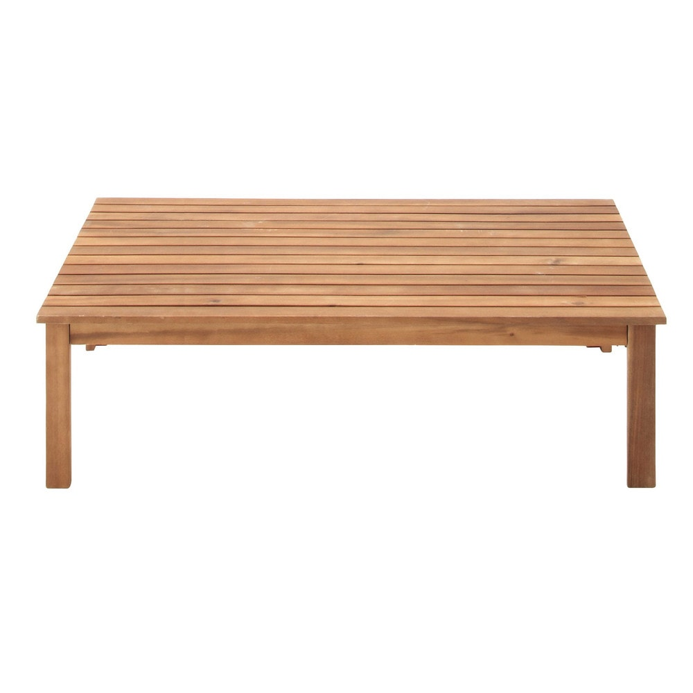 Acacia Garden Coffee Table W 100cm Iliade Maisons Du Monde