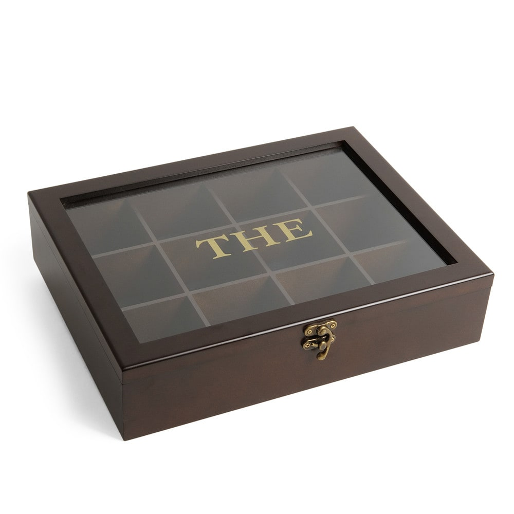 acajou tea chest in brown maisons du monde. Black Bedroom Furniture Sets. Home Design Ideas