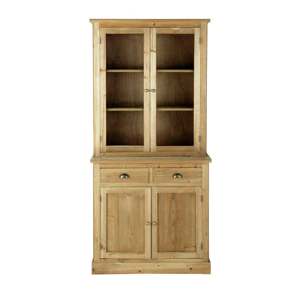 Alacena de madera an 95 cm p rigord maisons du monde - Alacena de madera ...