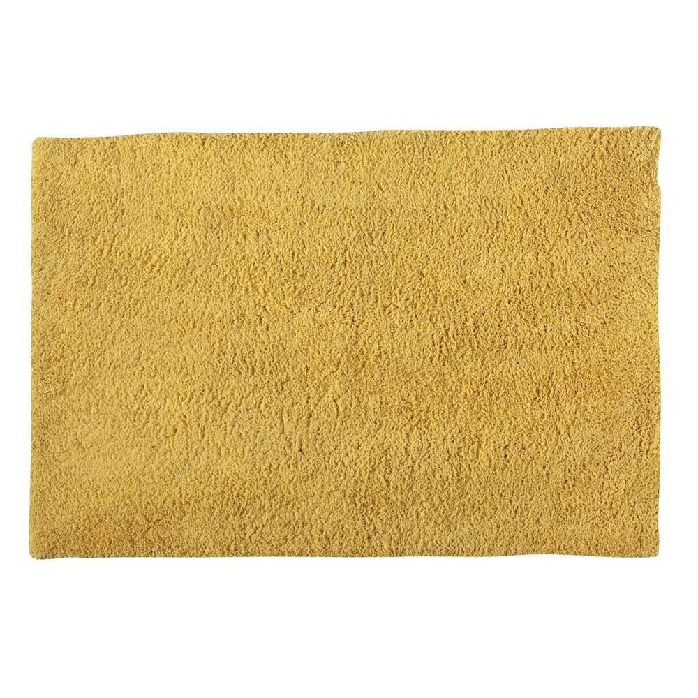 Alfombra amarilla de pelo largo 120 180 cm magic - Alfombras pelo largo ...