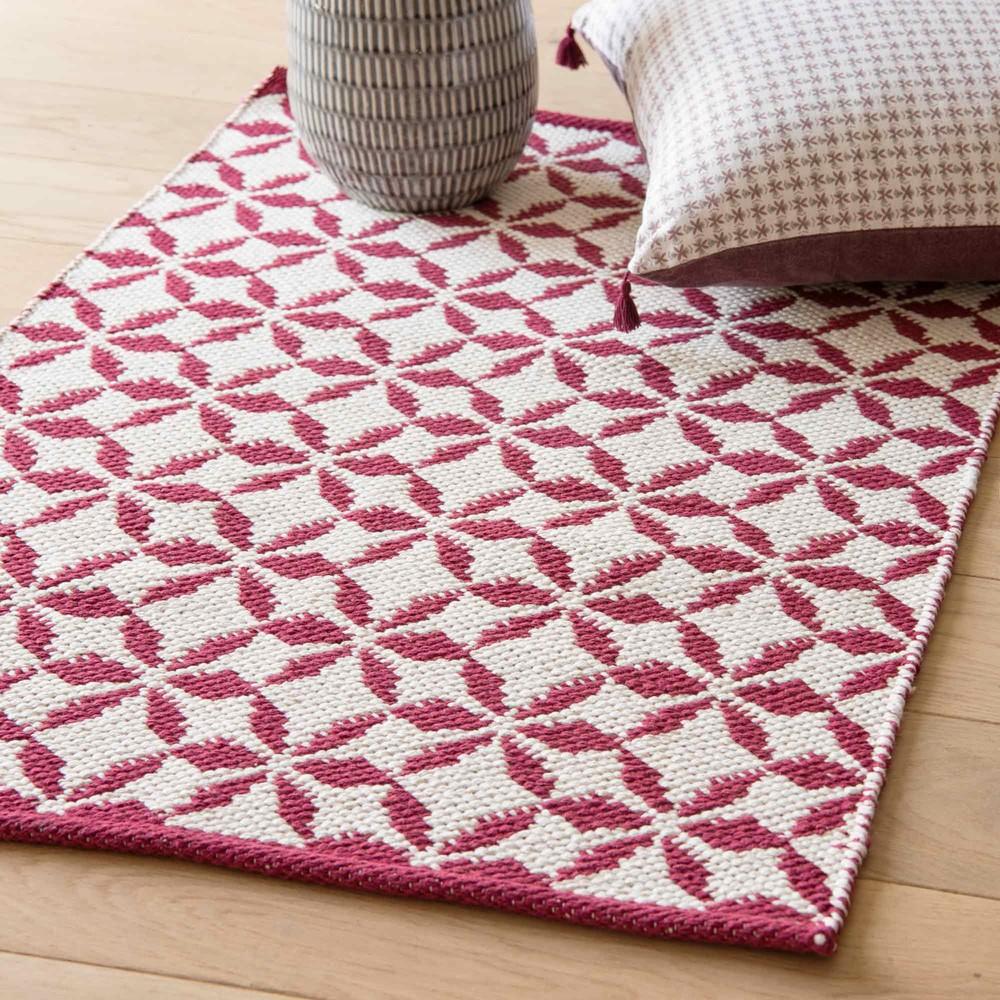 Alfombras de algodon awesome alfombra redonda tejida - La redoute alfombras ...