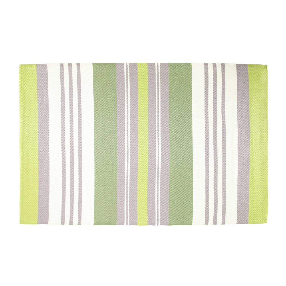 alfombra de exterior de tela verde 180 x 270 cm olive maisons du monde. Black Bedroom Furniture Sets. Home Design Ideas