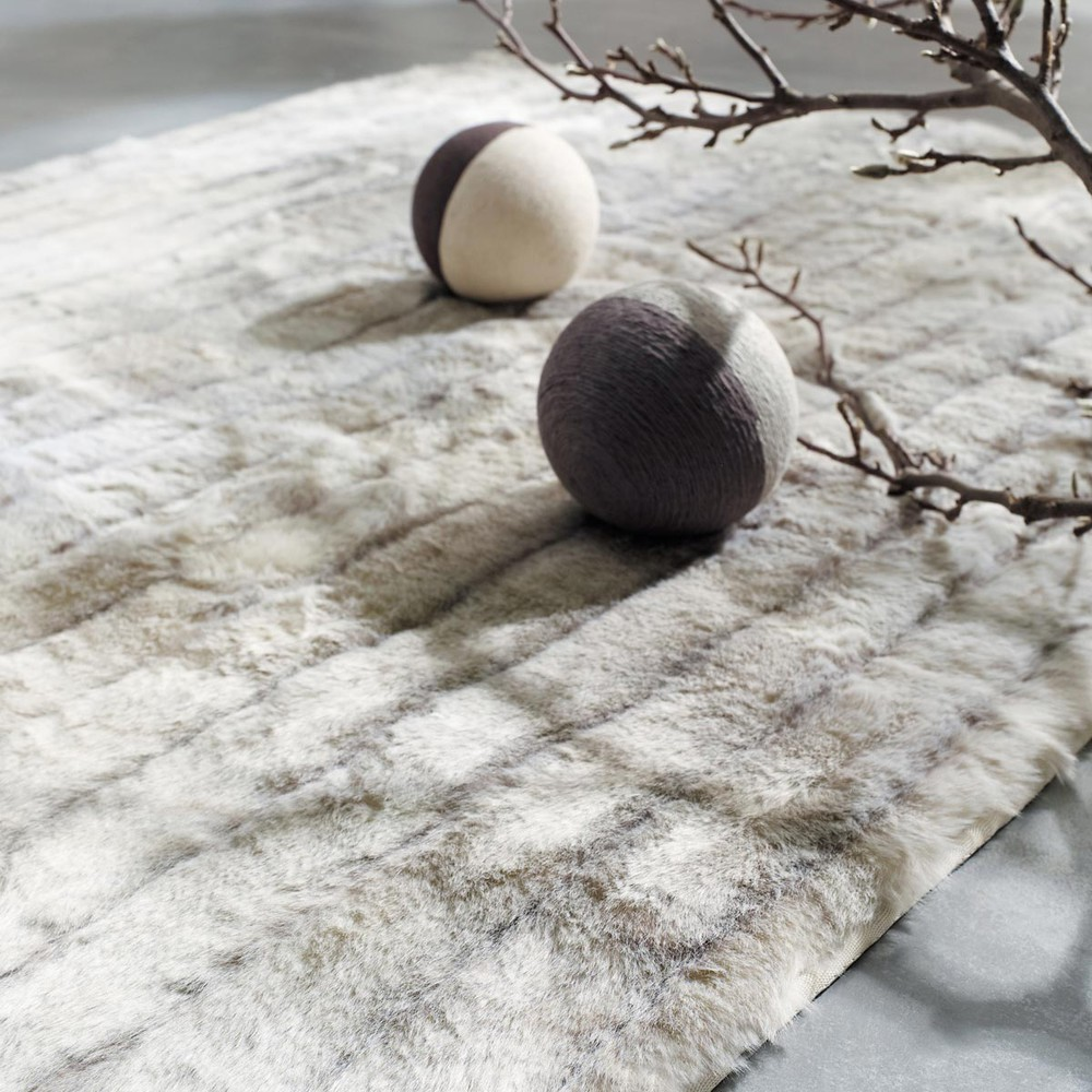 alfombra de pelo largo minsk 200x140 maisons du monde. Black Bedroom Furniture Sets. Home Design Ideas