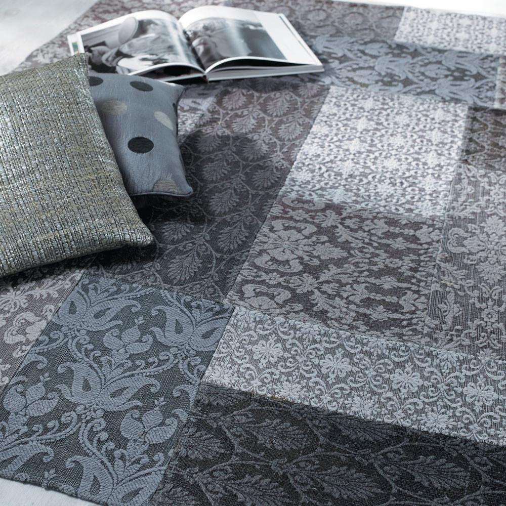 Alfombra patchwork pasillo maisons du monde - Alfombras pasillo ...