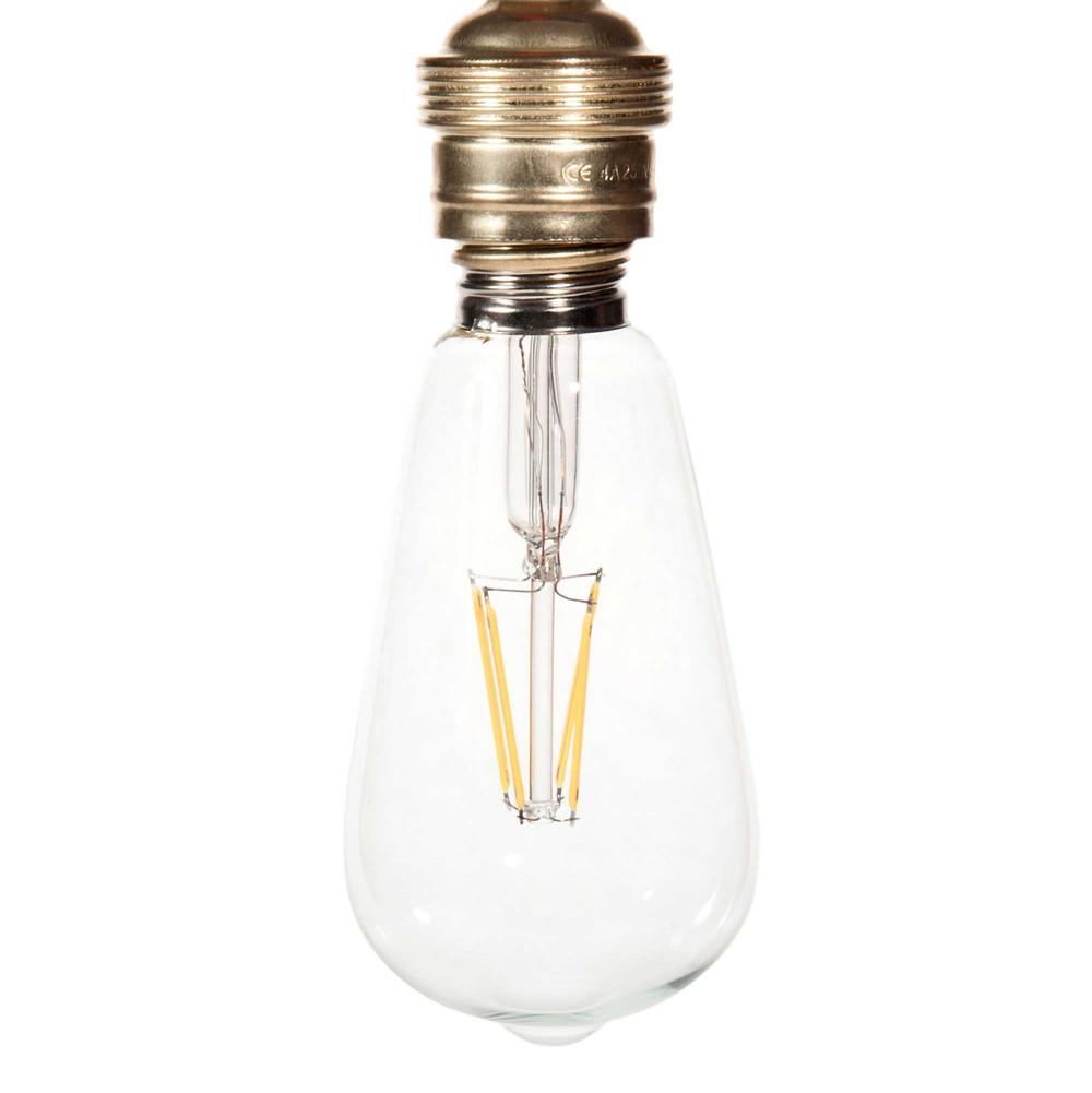 ampoule led en verre edison clear maisons du monde. Black Bedroom Furniture Sets. Home Design Ideas