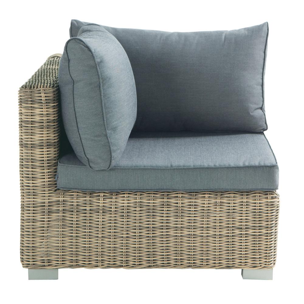 angle de canap de jardin en r sine tress e st rapha l. Black Bedroom Furniture Sets. Home Design Ideas
