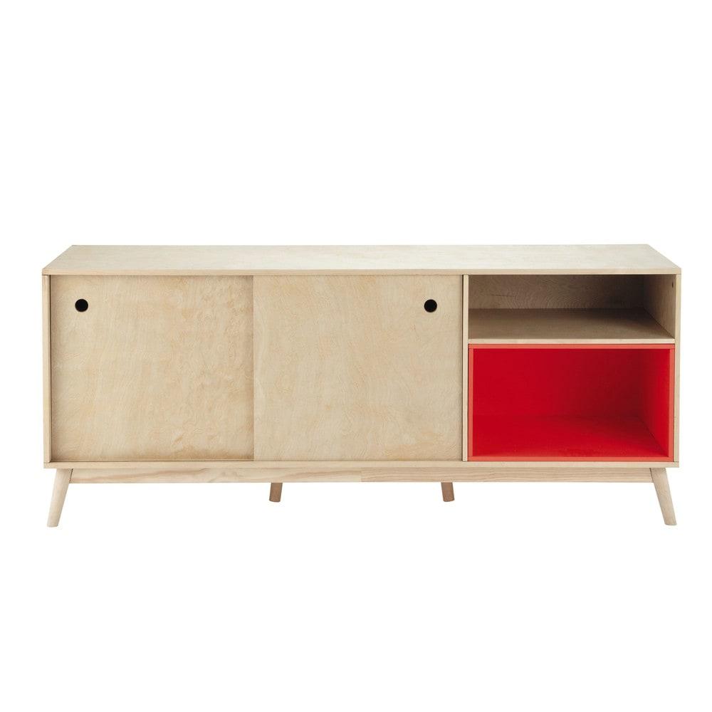 anrichte im vintage stil aus holz b 170 cm dekale. Black Bedroom Furniture Sets. Home Design Ideas