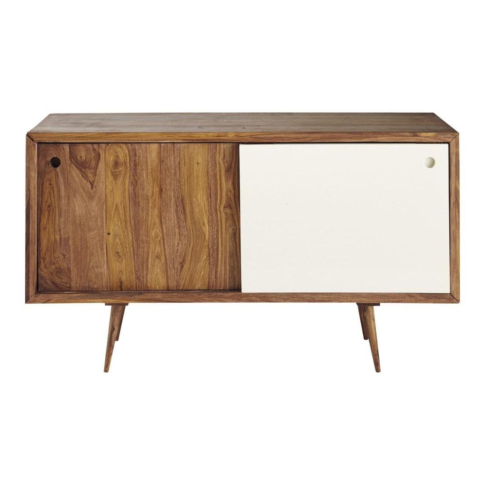 anrichte im vintage stil aus sheeshamholz b140 andersen. Black Bedroom Furniture Sets. Home Design Ideas