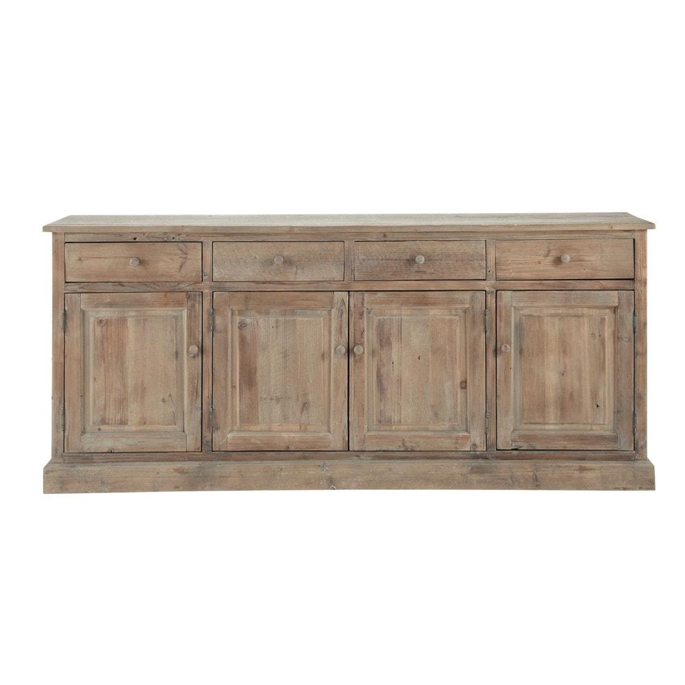 Armario Cozinha Planejado Valor ~ Aparador de madera reciclada An 195 cm Pauillac Maisons du Monde