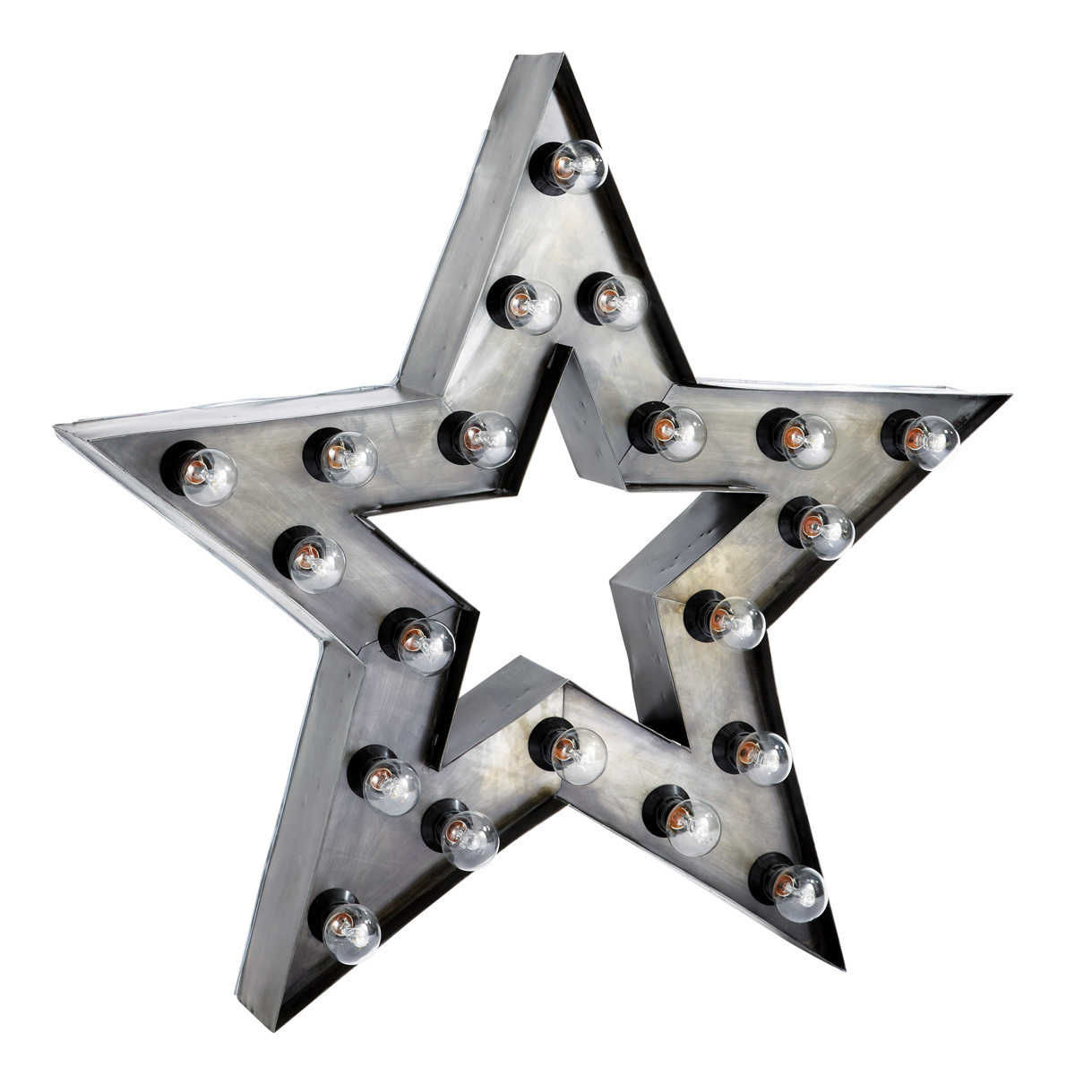 Applique étoile Indus En Métal H 80 Cm Alabama Maisons Du Monde