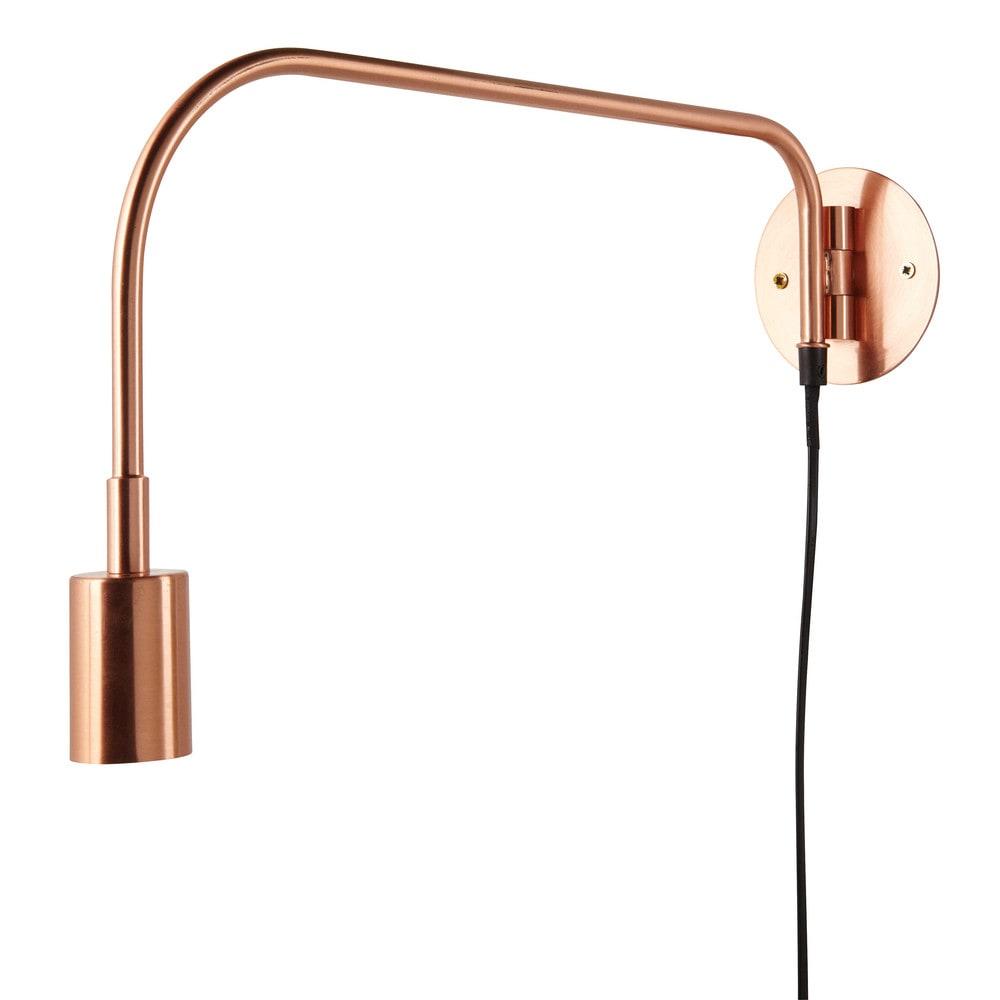 Applique orientable en m tal cuivr davis copper maisons for Maison du monde applique