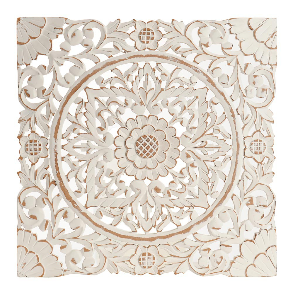 arabesque wall decoration 51 x 51 cm maisons du monde