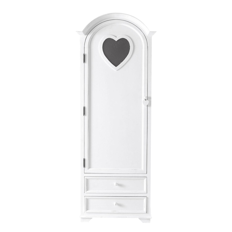 armoire bonnetière blanche | maisons du monde