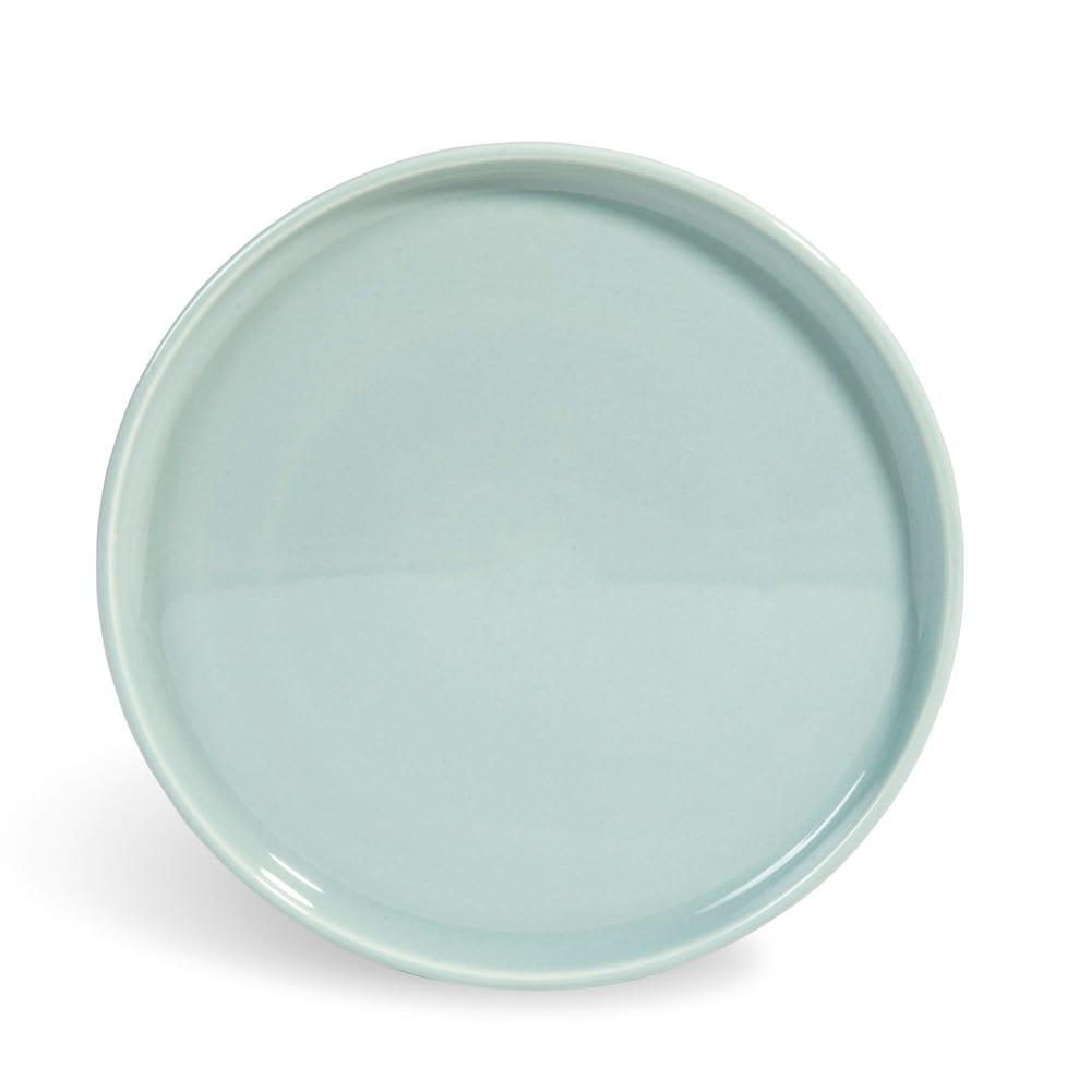 assiette dessert en fa ence bleue d 21 cm helsinki maisons du monde. Black Bedroom Furniture Sets. Home Design Ideas