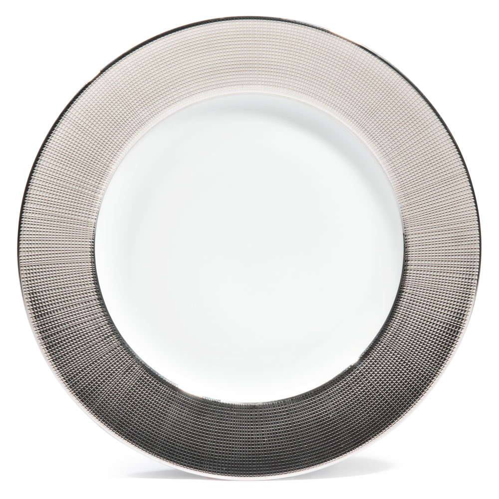 assiette plate argent sauvage maisons du monde. Black Bedroom Furniture Sets. Home Design Ideas