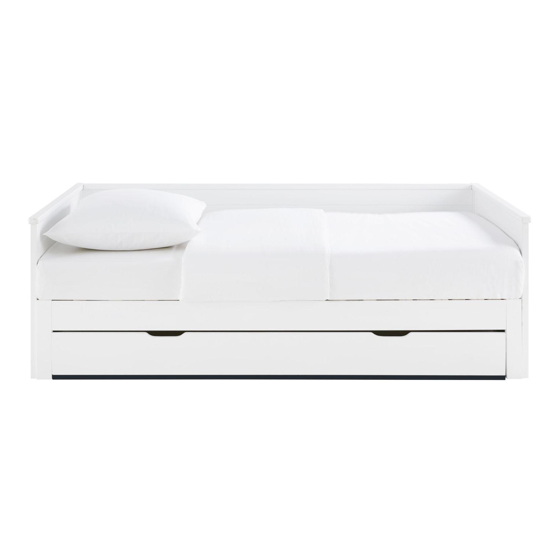 Ausziehbett 90x190 Weiß Happy Camper Maisons Du Monde