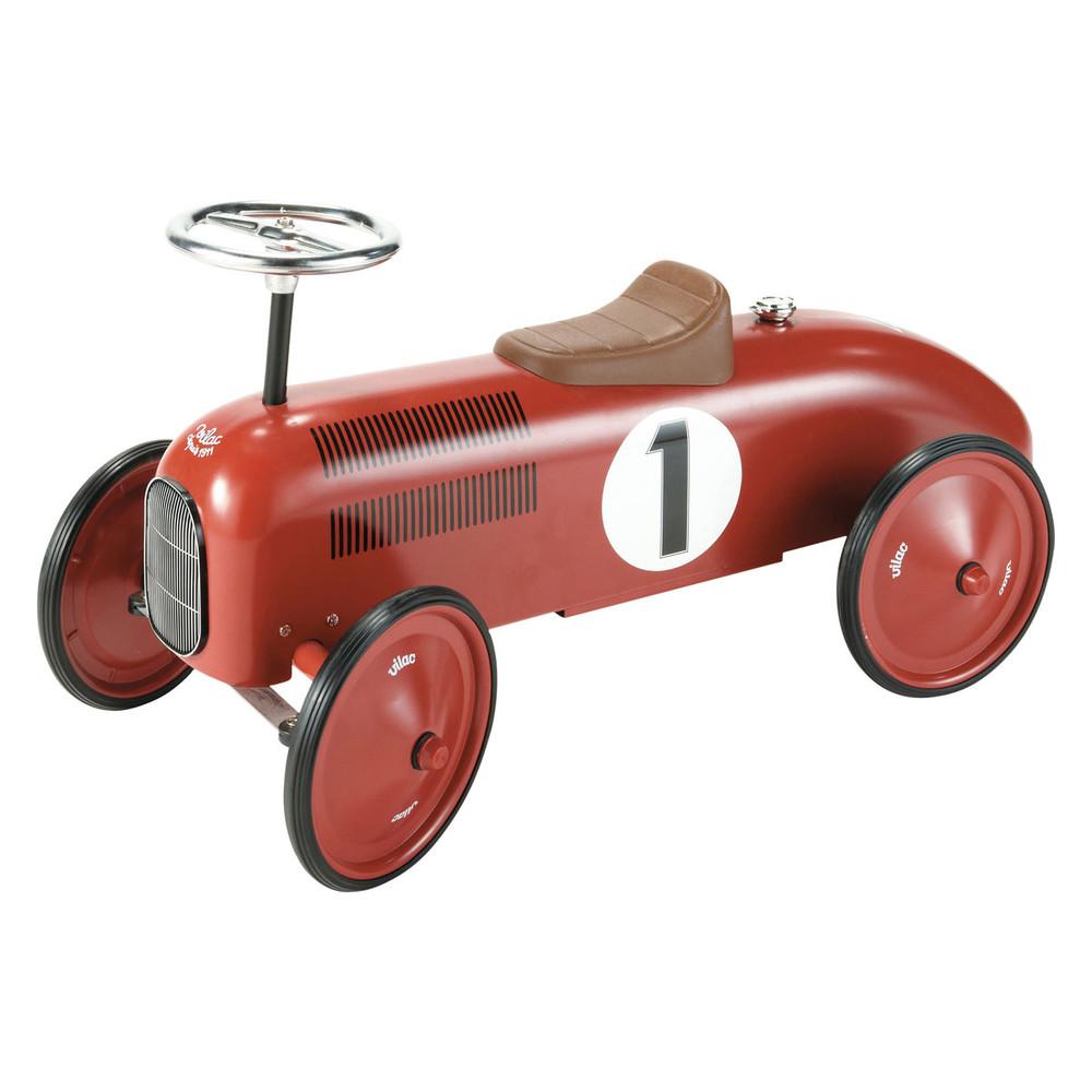 Auto cavalcabile rossa in metallo l 76 cm vilac maisons for Maison du monde 76