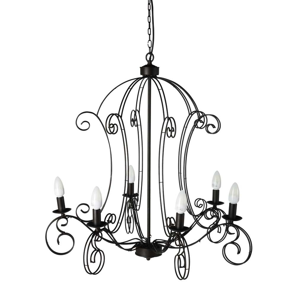 avignon chandelier maisons du monde. Black Bedroom Furniture Sets. Home Design Ideas