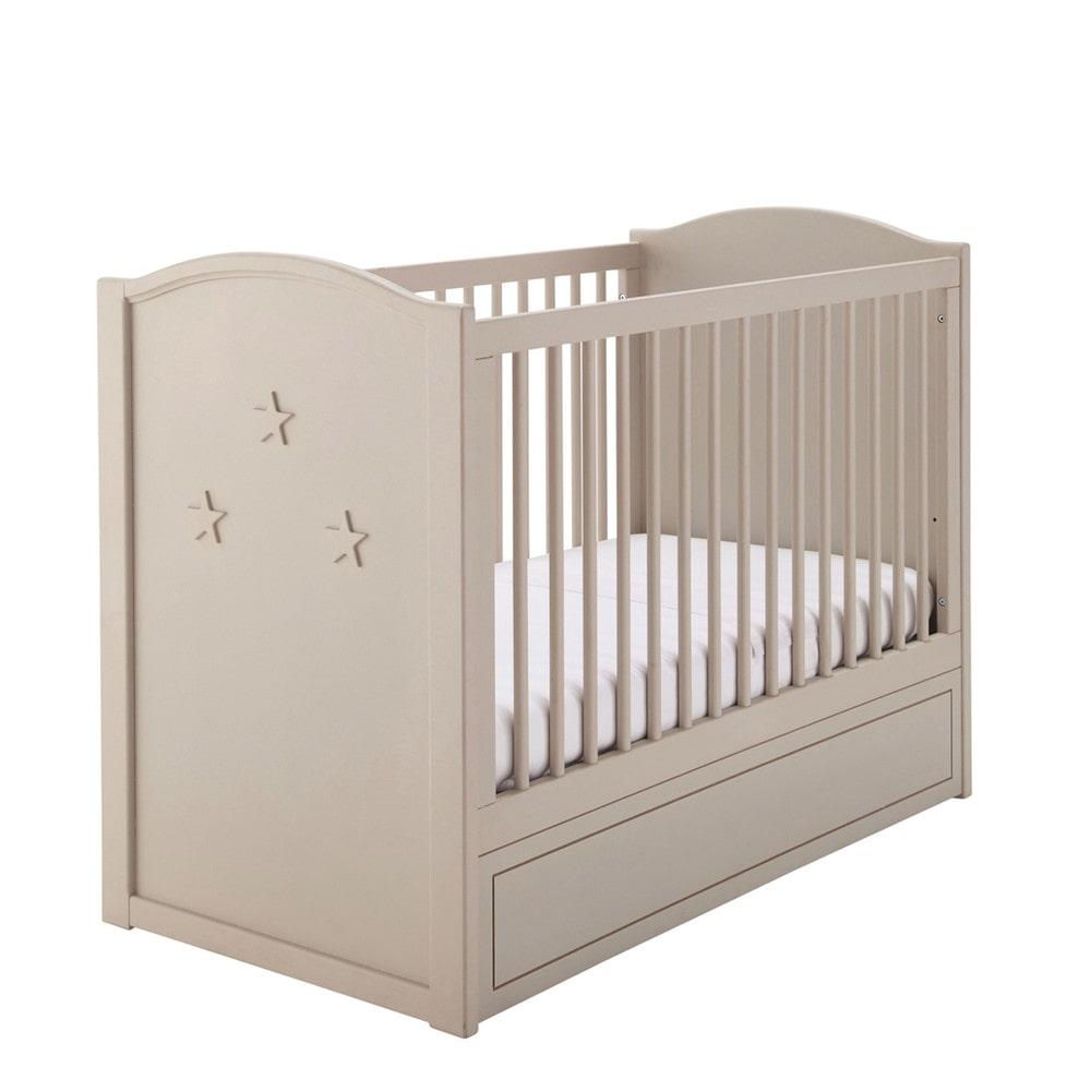 baby gitterbett aus holz l 126 cm beige circus circus maisons du monde. Black Bedroom Furniture Sets. Home Design Ideas