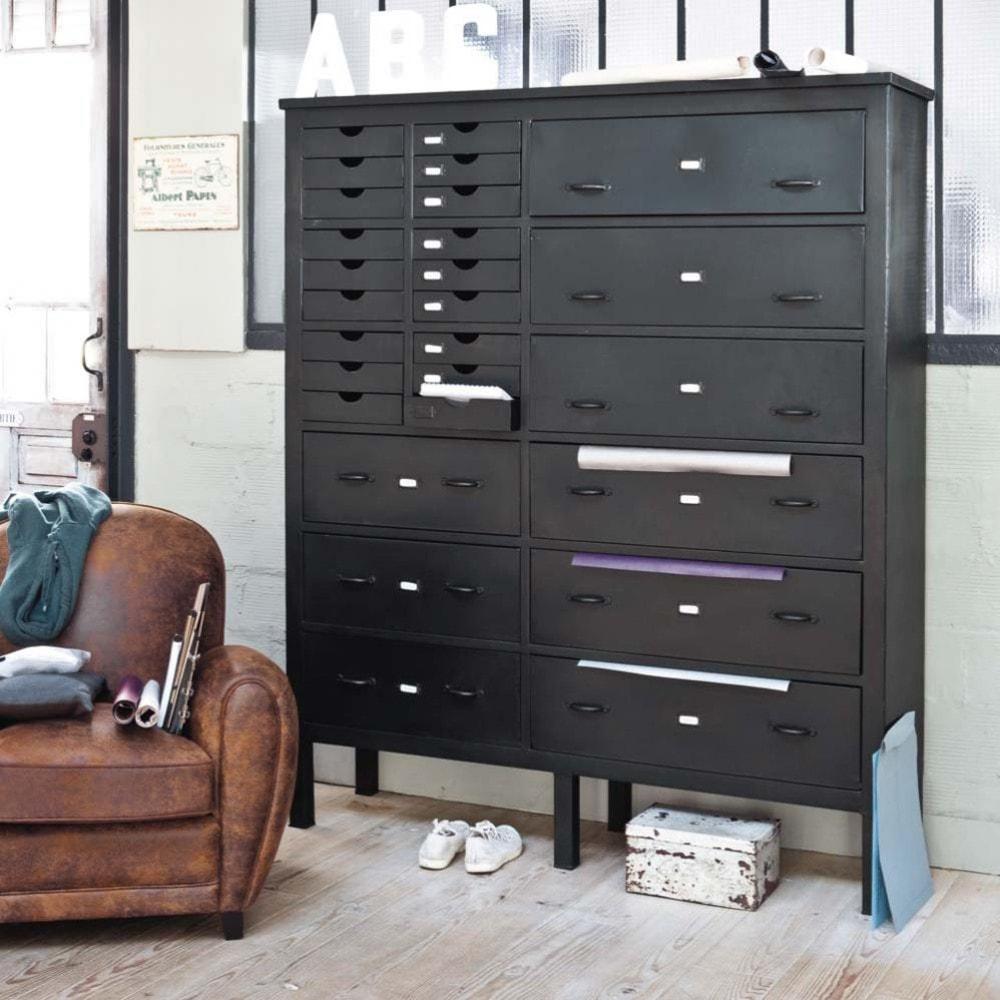 bahut edison maisons du monde. Black Bedroom Furniture Sets. Home Design Ideas