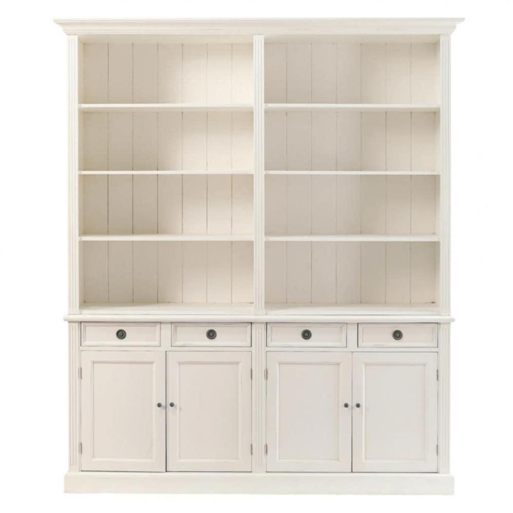 bahut en bois ivoire l 194 cm gustavia maisons du monde. Black Bedroom Furniture Sets. Home Design Ideas