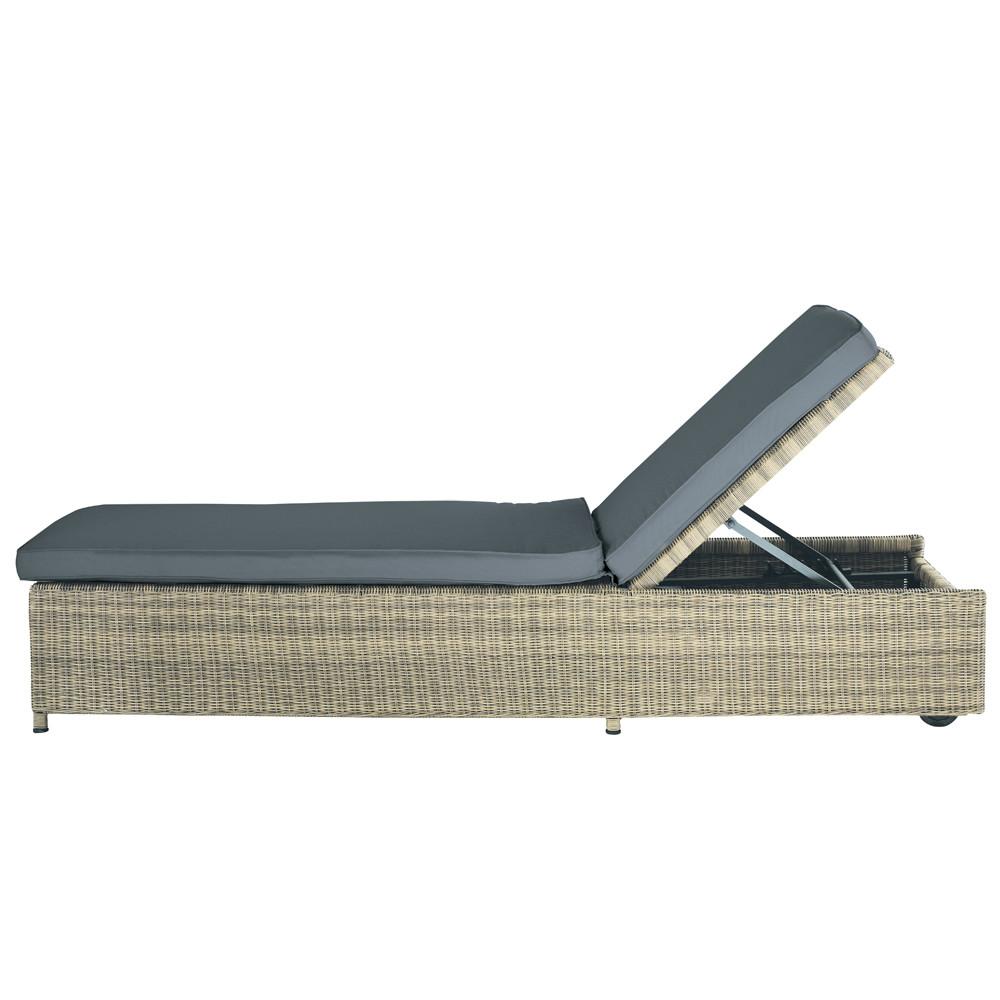 bain de soleil en r sine tress e l 209 cm saint rapha l. Black Bedroom Furniture Sets. Home Design Ideas