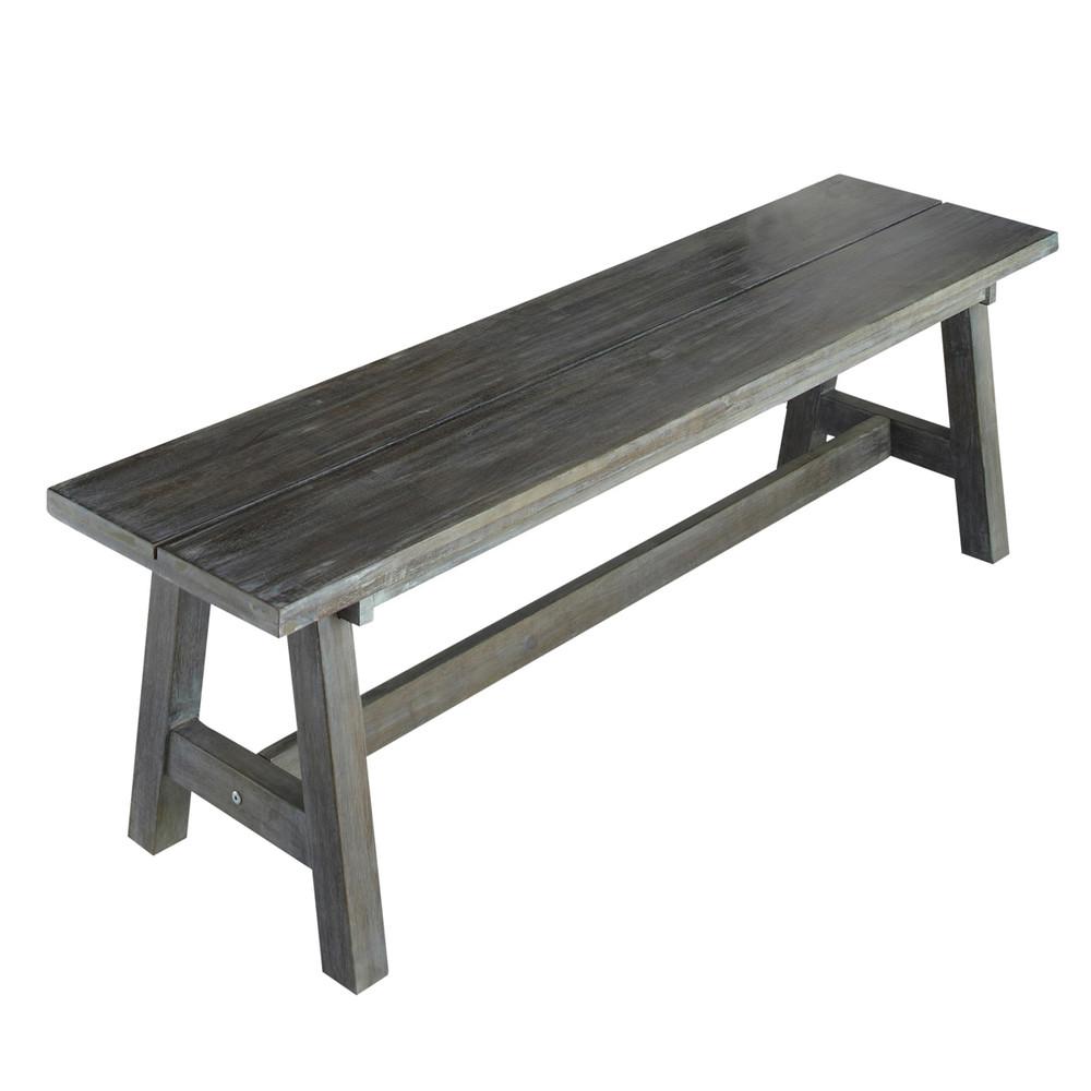 banc de jardin en bois trendy banquette de jardin pas cher banc de jardin en rotin cm banc de. Black Bedroom Furniture Sets. Home Design Ideas