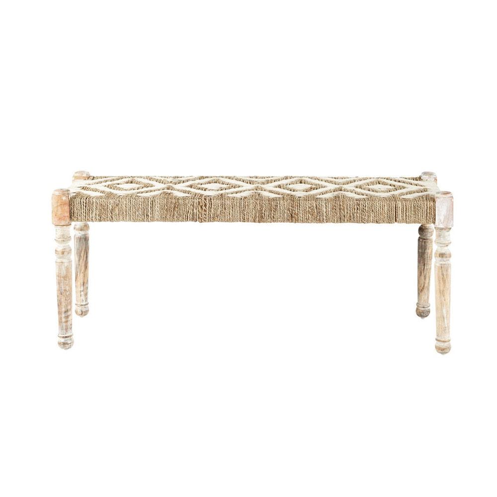 banc coffre bois maison du monde ventana blog. Black Bedroom Furniture Sets. Home Design Ideas