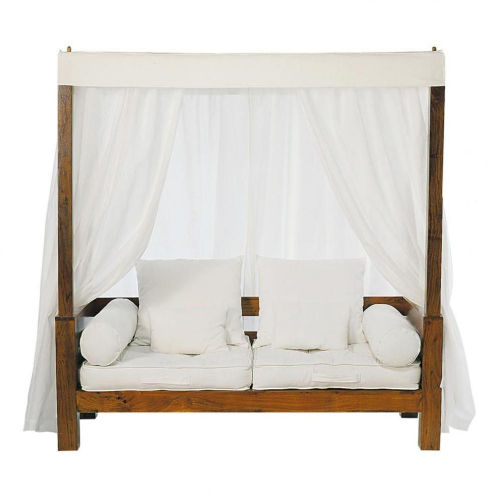 bank met baldakijn ceylan ceylan maisons du monde. Black Bedroom Furniture Sets. Home Design Ideas