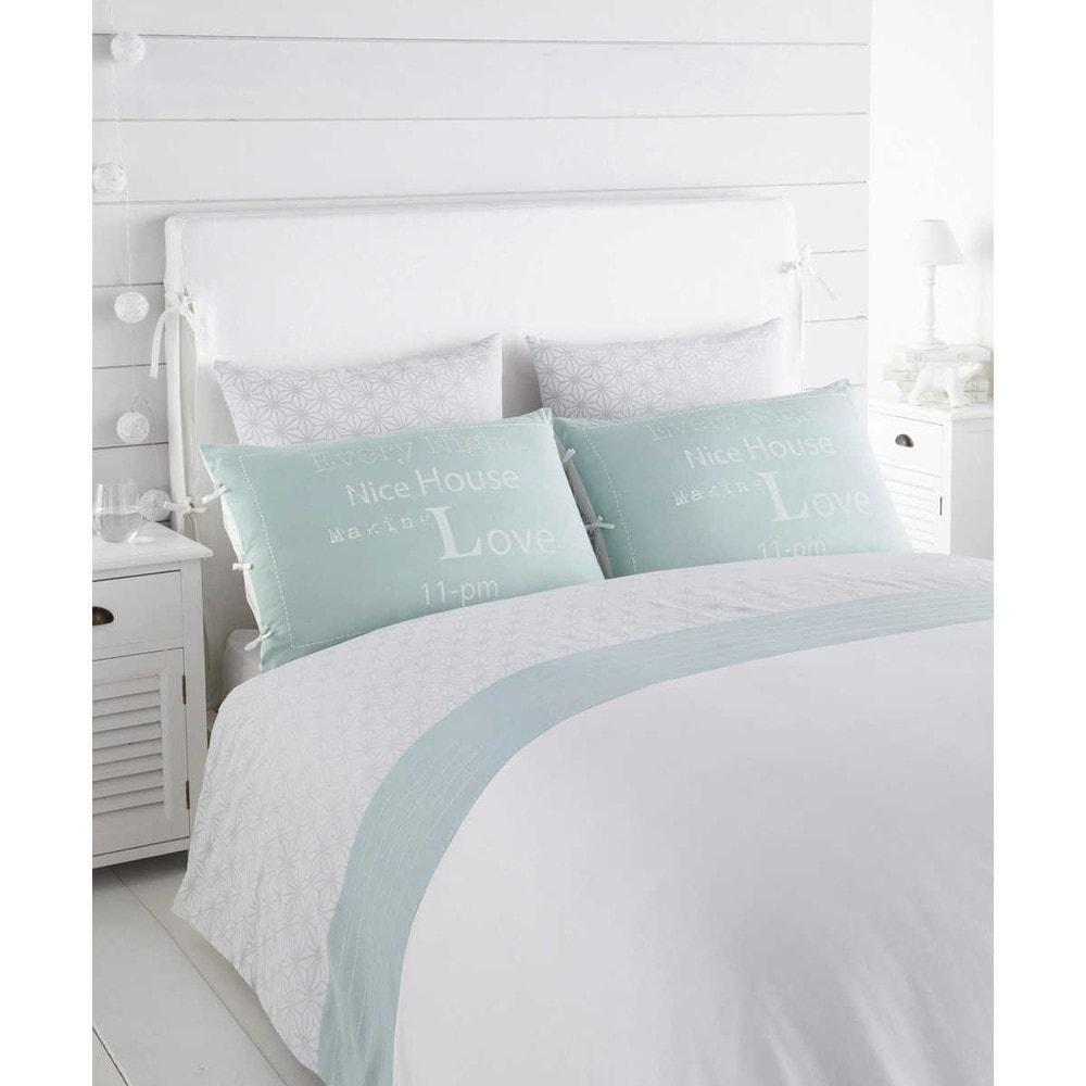 beddenkleed dekbedovertrek nordic 260 x 240 maisons du monde. Black Bedroom Furniture Sets. Home Design Ideas