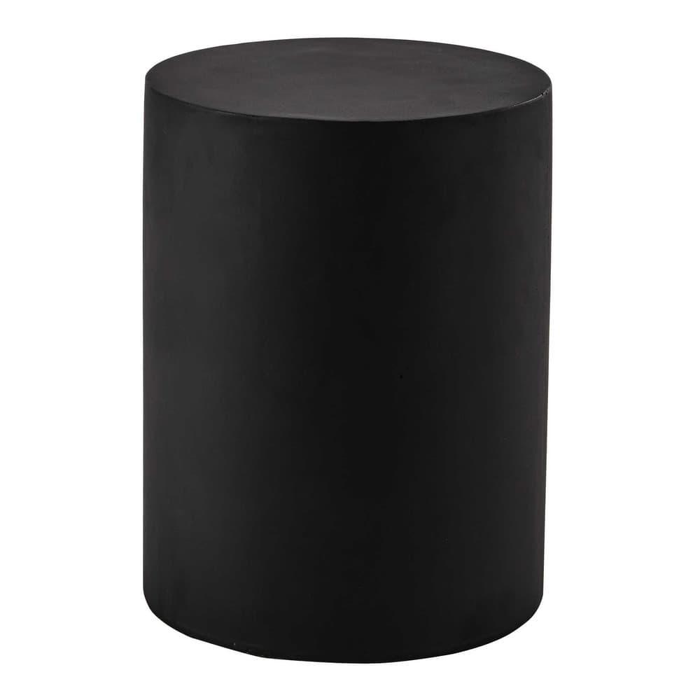beistelltisch alvin aus kunstharz d 30 cm schwarz maisons du monde. Black Bedroom Furniture Sets. Home Design Ideas