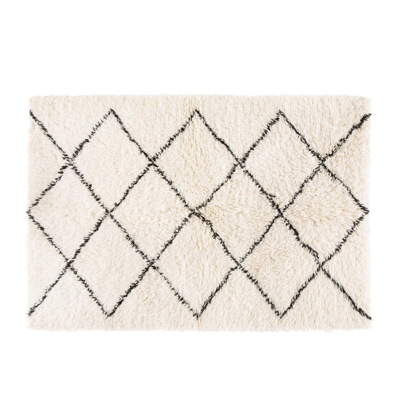 Berber Teppich Aus Wolle Und Baumwolle 140x200 Maisons Du Monde