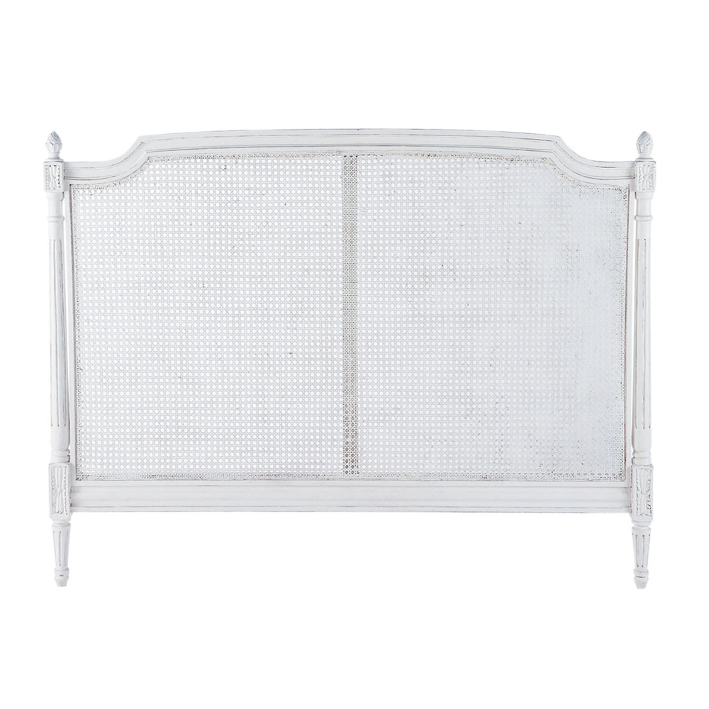 bett kopfteil aus mangoholz b 140 cm elfenbein patiniert saint r my saint r my maisons du monde. Black Bedroom Furniture Sets. Home Design Ideas