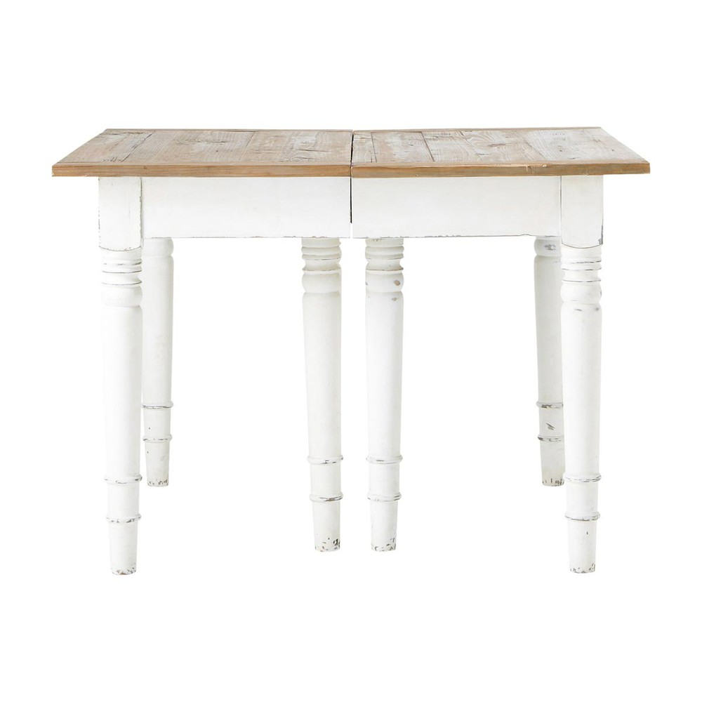 birch extending dining table w 320cm provence maisons du. Black Bedroom Furniture Sets. Home Design Ideas