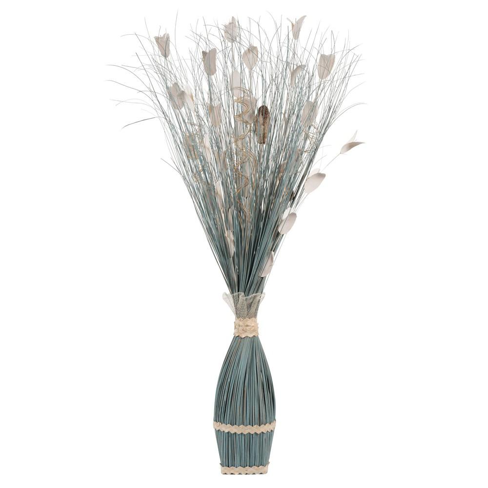 ... › Kunstbloemen › Blauwe gedroogde TING TING bloemen H 100 cm