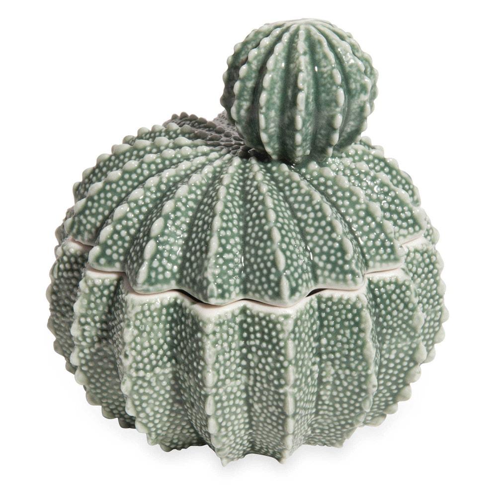 Bo te bijoux en porcelaine verte cactus maisons du monde - Maison du monde boite a bijoux ...