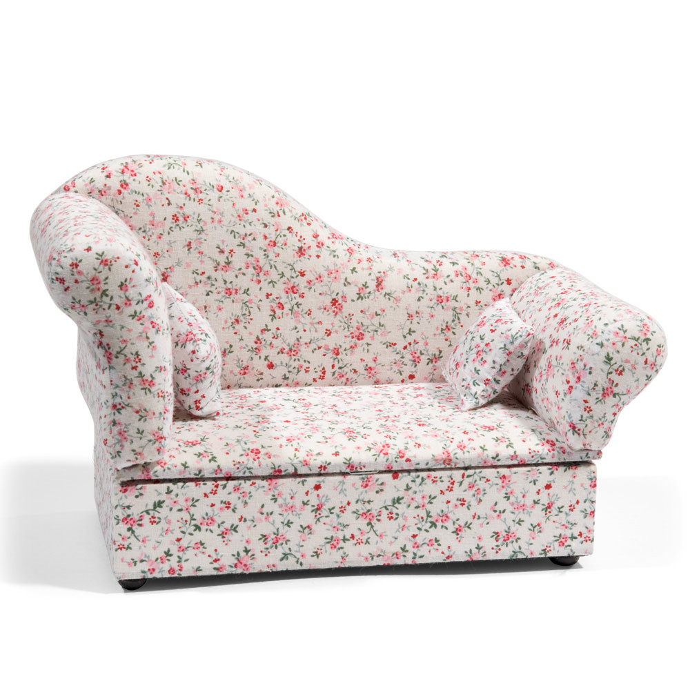 bo te bijoux sofa fleuri maisons du monde. Black Bedroom Furniture Sets. Home Design Ideas