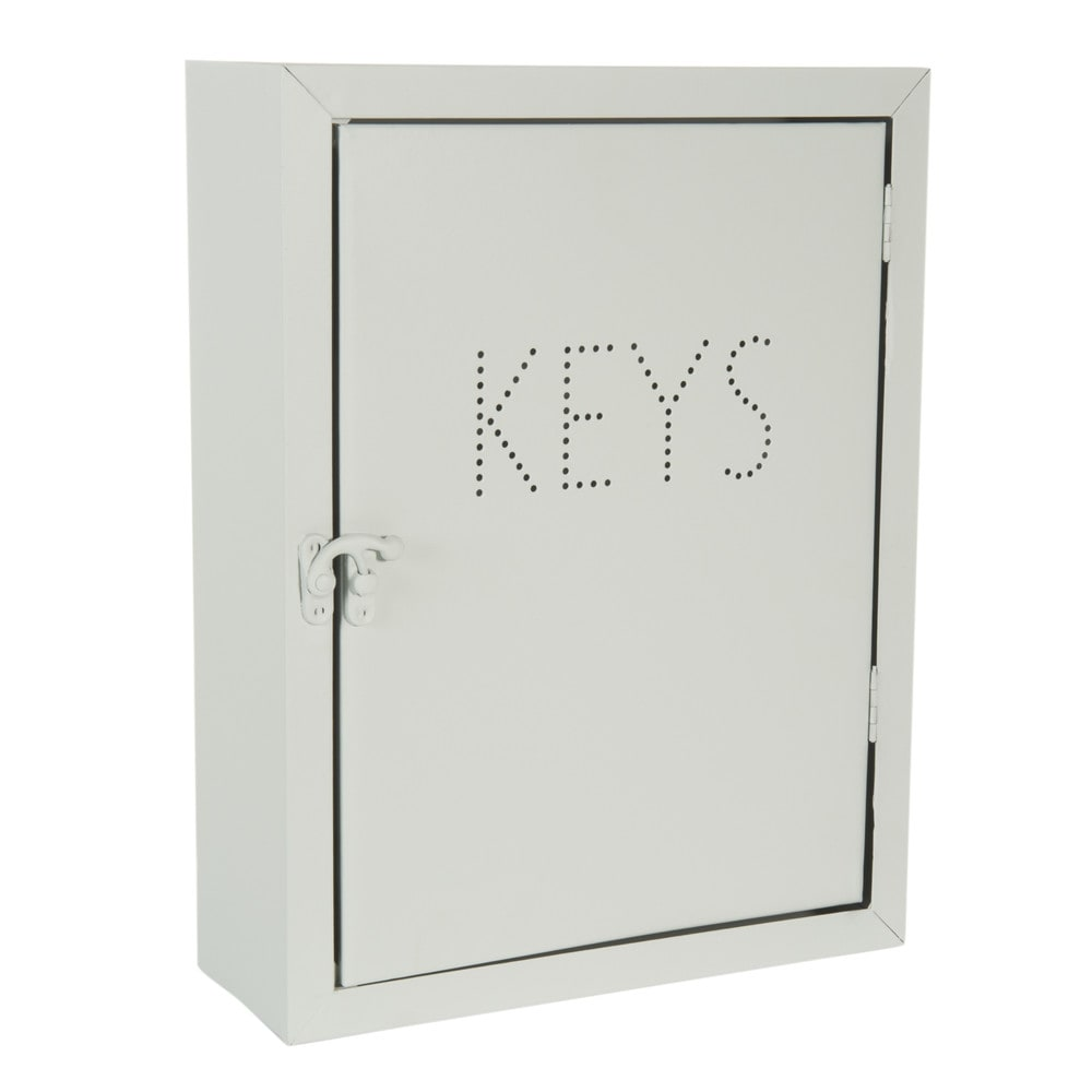 bo te cl s en m tal h 30 cm graphic keys maisons du monde. Black Bedroom Furniture Sets. Home Design Ideas