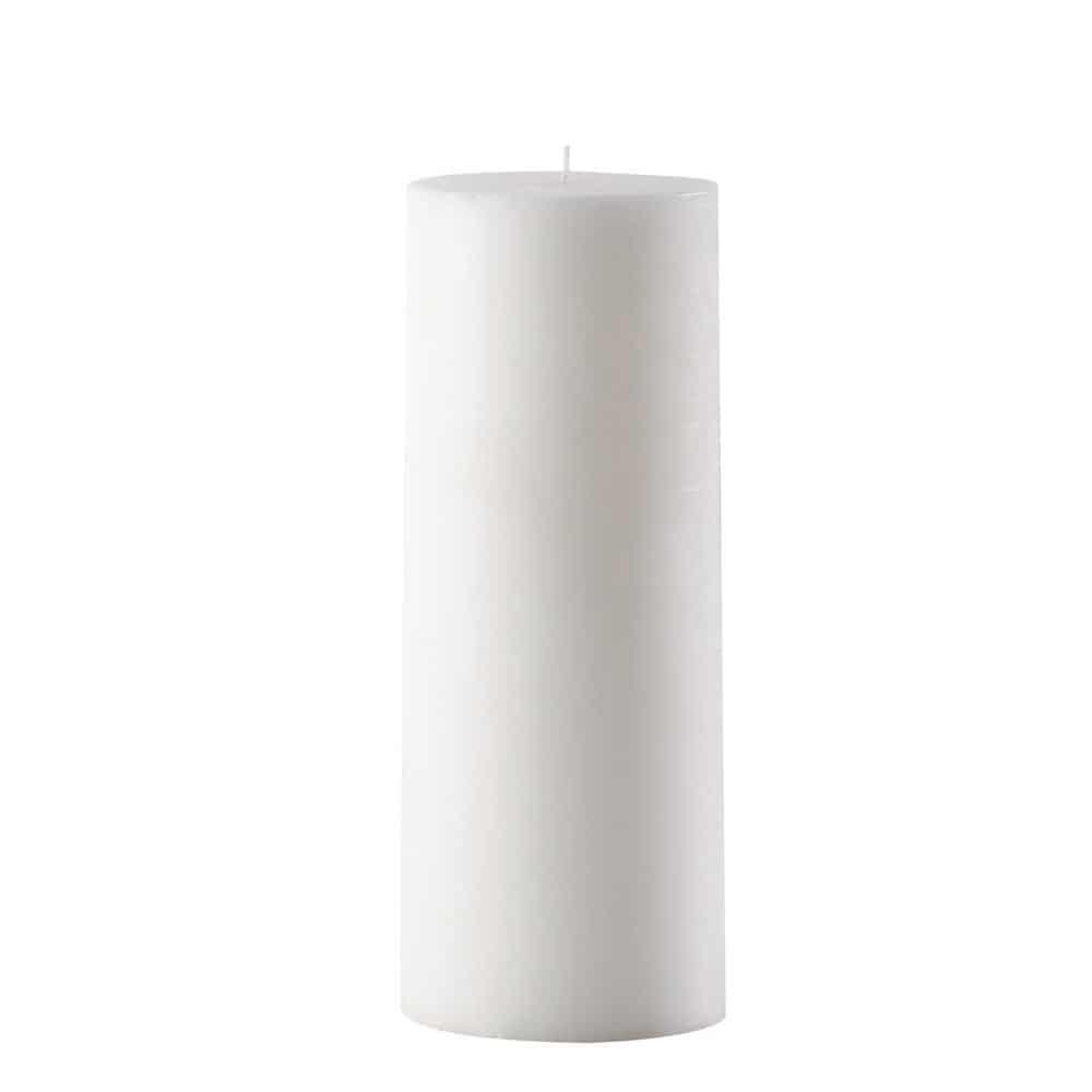 bougie blanche h 30 cm saint remy maisons du monde. Black Bedroom Furniture Sets. Home Design Ideas
